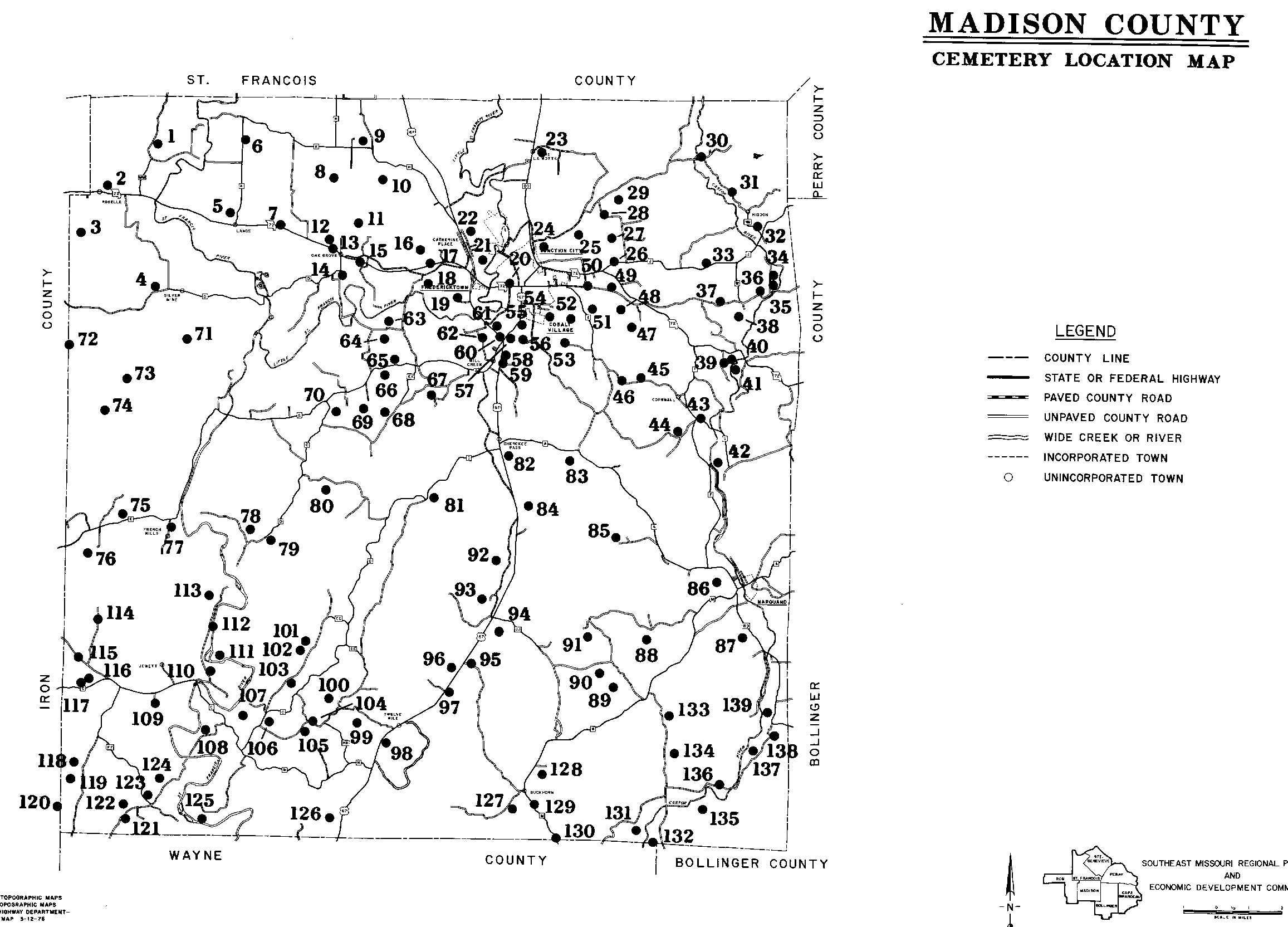 Madison Co Cemeteries